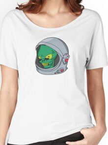 Alien chilling  Women's Relaxed Fit T-Shirt