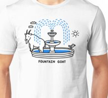 Fountain Goat Unisex T-Shirt