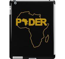 Black Power (Africa/Spanish) iPad Case/Skin