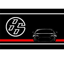 Scion FR-S / Toyota GT86 Front end design Photographic Print