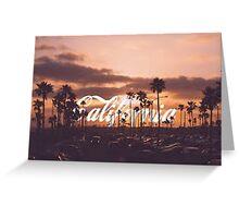 Cali Love Greeting Card