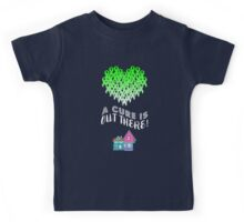 A Cure Is Out There - Green Kids Tee