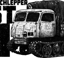 Raupenschlepper Ost by deathdagger