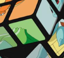 Pokemon Rubik's Cube Sticker