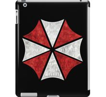 Resident Evil Umbrella Typography iPad Case/Skin