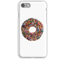 Chocolate Sprinkle Donut iPhone Case/Skin