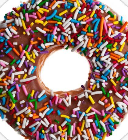 Chocolate Sprinkle Donut Sticker