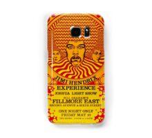 Jimi Hendrix Experience Poster Samsung Galaxy Case/Skin