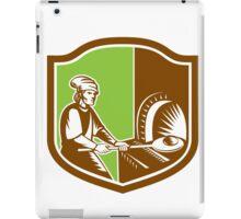 Baker Peel Bread Pan Shield Retro iPad Case/Skin