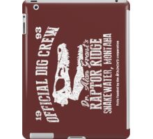 Raptor Ridge iPad Case/Skin
