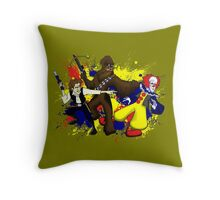 Punch IT, Chewy Throw Pillow