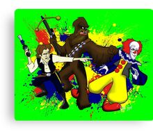 Punch IT, Chewy Canvas Print