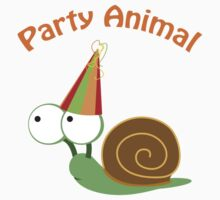 Party Animal - Snail One Piece - Short Sleeve