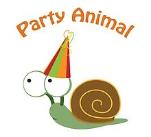 Party Animal - Snail by Eggtooth