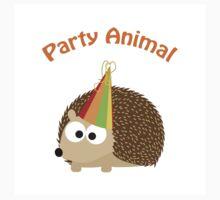 Party Animal - Hedgehog One Piece - Short Sleeve
