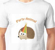 Party Animal - Hedgehog Unisex T-Shirt