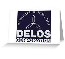 Delos Corporation Greeting Card
