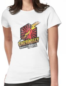 Chernolbly Energy Drink Womens Fitted T-Shirt