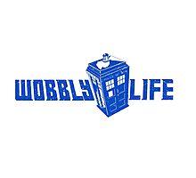Wobbly Life Photographic Print