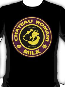 Legend of Zelda: Majora's Mask Chateau Romani Milk T-Shirt