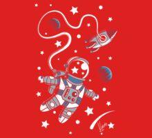 Space Walk One Piece - Long Sleeve