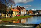 Reflections on the River Leven, Great Ayton by Christine Smith