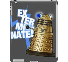 Doctor Who - EX-TER-MIN-ATE! iPad Case/Skin