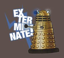 Doctor Who - EX-TER-MIN-ATE! by StudioMarimo