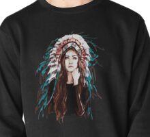 shaman girl Pullover
