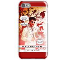 Violent Souls - Black Mirror Karl iPhone Case/Skin