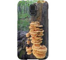 Yellow Shelf Mushrooms Samsung Galaxy Case/Skin