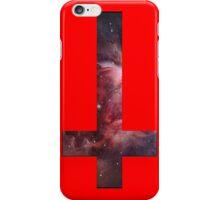 Upside down Cross Galaxy iPhone Case/Skin
