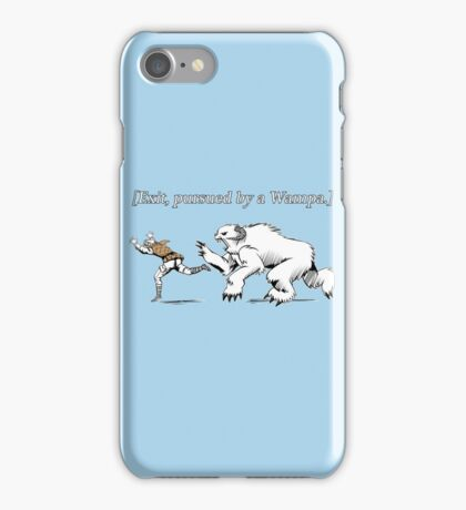 William Shakespeare's Star Wars: Exit, pursued by Wampa iPhone Case/Skin