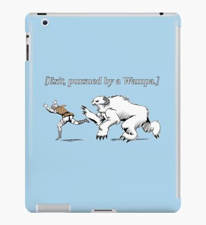 William Shakespeare's Star Wars: Exit, pursued by Wampa iPad Case/Skin