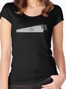The Disston D-7 Hand Saw Women's Fitted Scoop T-Shirt