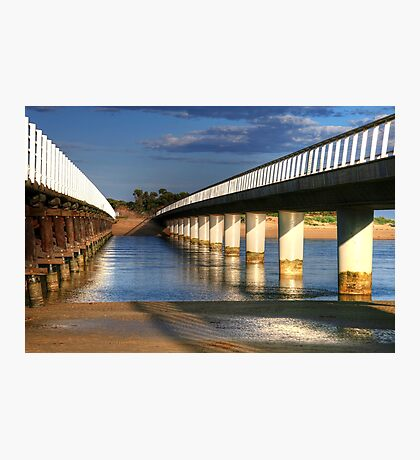 Between the Bridges at Barwon Heads Photographic Print
