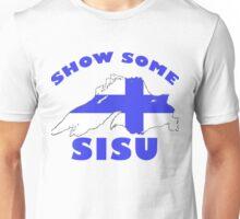 SISU Lake Superior USA CANADA Finnish Heritage Unisex T-Shirt