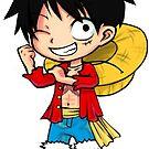 Monkey D Luffy - One Piece by StudioMarimo