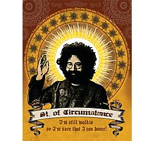 Jerry Garcia - Saint of Circumstance Photographic Print