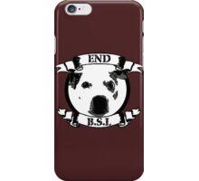 End BSL Dog Logo iPhone Case/Skin