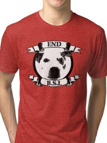 End BSL Dog Logo Tri-blend T-Shirt