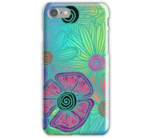 Rainbow Flowers  iPhone Case/Skin