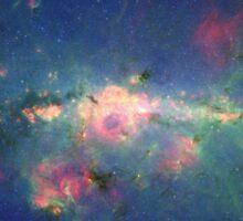 Galaxy   Nebula 1 Sticker