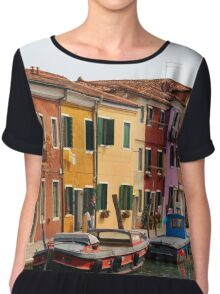 Houses of Burano Chiffon Top