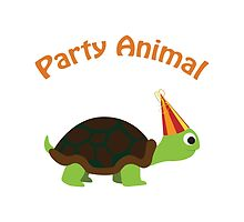 Party Animal - Turtle by Eggtooth