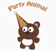 Party Animal - bear One Piece - Long Sleeve