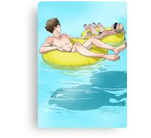 The Lazy River Canvas Print
