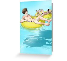 The Lazy River Greeting Card