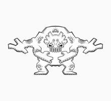 Graveler de los Muertos   Pokemon & Day of The Dead Mashup T-Shirt