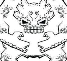 Graveler de los Muertos | Pokemon & Day of The Dead Mashup Sticker